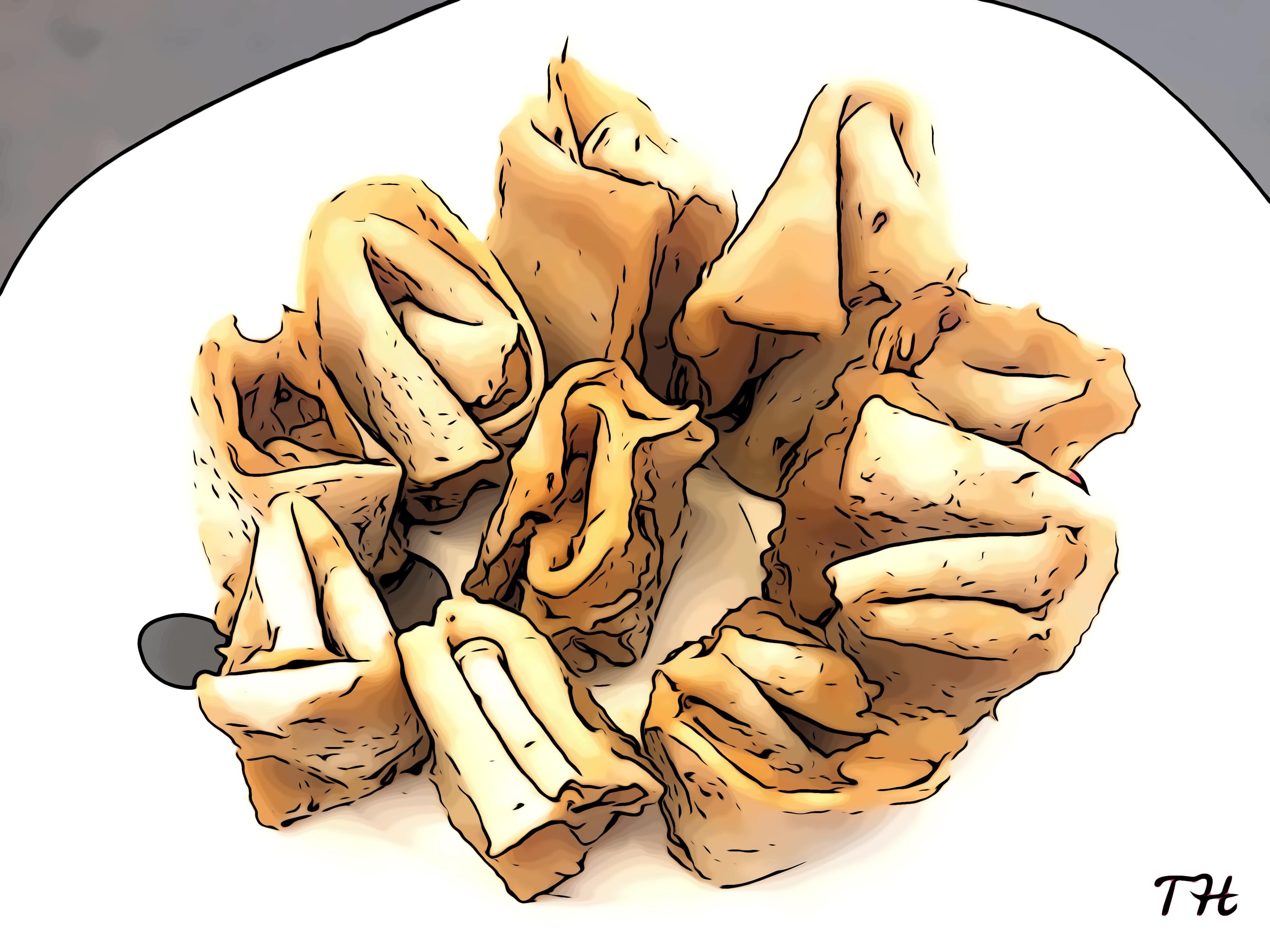 Tortitas de maíz y manzana