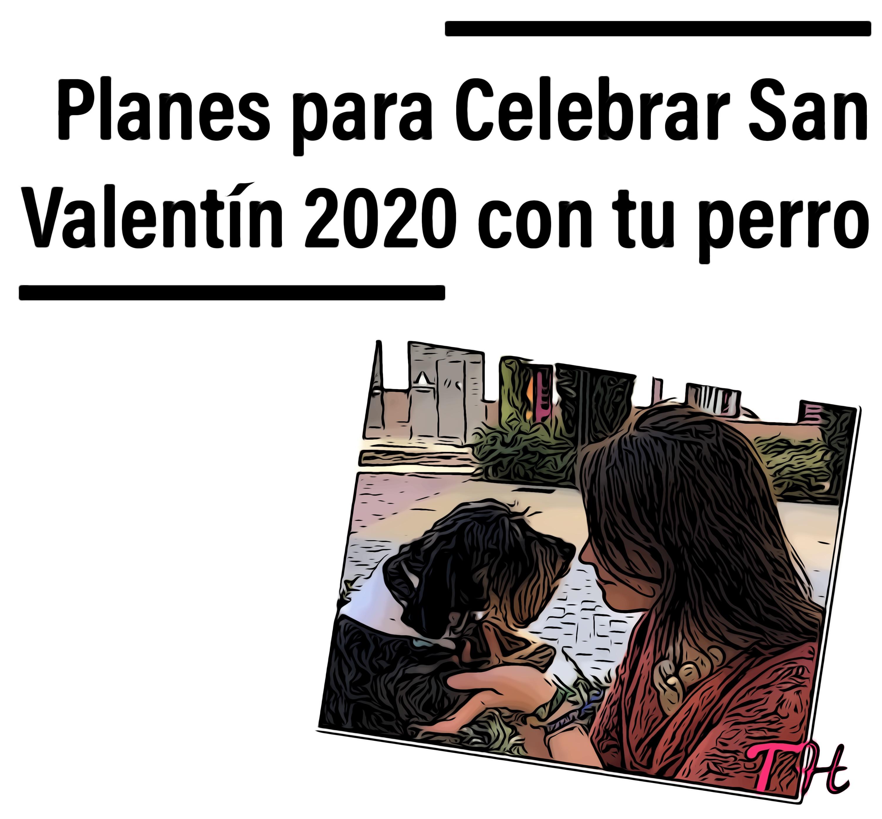 San Valentín 2020 con perro