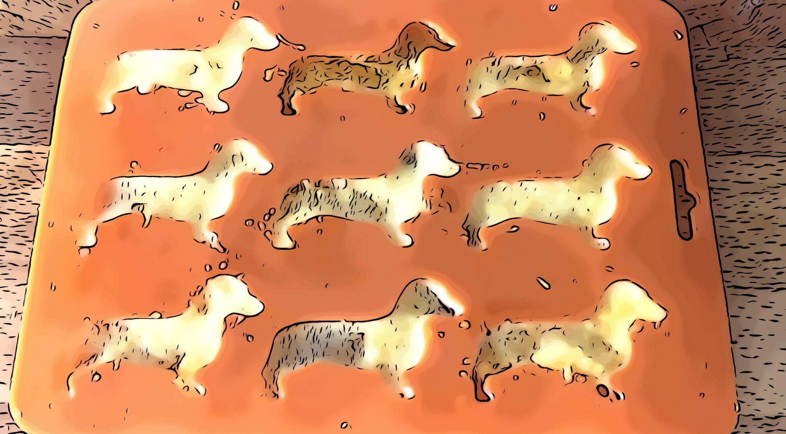 Helado de Naranja para perros